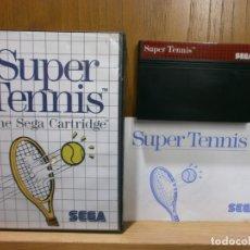 Videojuegos y Consolas: SEGA MASTER SYSTEM SUPER TENNIS. Lote 181987520