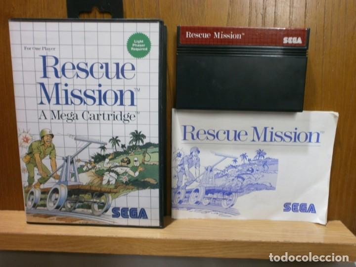 SEGA MASTER SYSTEM RESCUE MISSION (Juguetes - Videojuegos y Consolas - Sega - Master System)