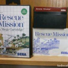Videojuegos y Consolas: SEGA MASTER SYSTEM RESCUE MISSION. Lote 181988172