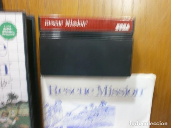 Videojuegos y Consolas: sega master system rescue mission - Foto 2 - 181988172