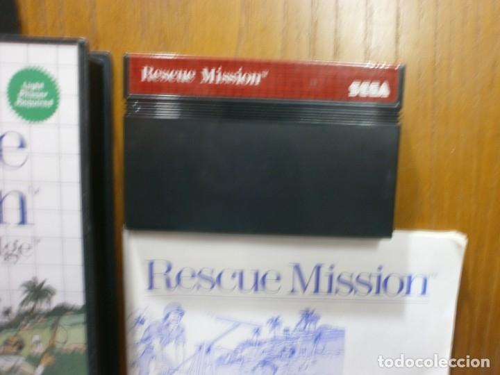 Videojuegos y Consolas: sega master system rescue mission - Foto 3 - 181988172