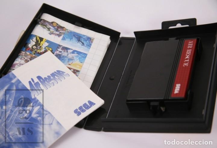 Videojuegos y Consolas: Videojuego para Consola Master System de Sega - Air Rescue - Con Caja y Folletos - Año 1992 - Foto 3 - 182498933