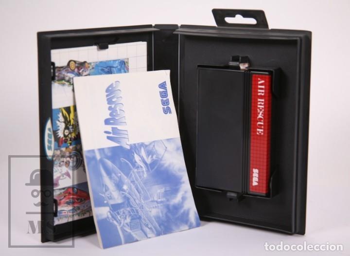 Videojuegos y Consolas: Videojuego para Consola Master System de Sega - Air Rescue - Con Caja y Folletos - Año 1992 - Foto 4 - 182498933