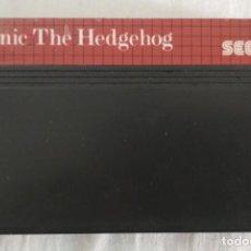 Videojuegos y Consolas: JUEGO SONIC THE HEDGEHOG PARA VIDEO CONSOLA SEGA MASTER SYSTEM II. Lote 186364057