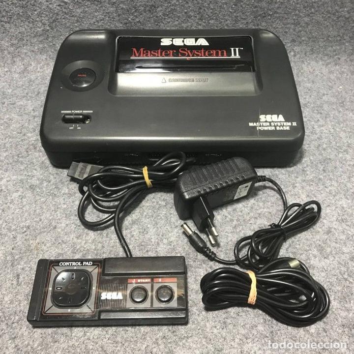 CONSOLA SEGA MASTER SYSTEM II ALEX KIDD IN MIRACLE WORLD+MANDO+RF+AC (Juguetes - Videojuegos y Consolas - Sega - Master System)