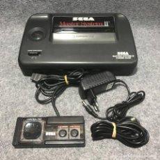 Videojuegos y Consolas: CONSOLA SEGA MASTER SYSTEM II ALEX KIDD IN MIRACLE WORLD+MANDO+RF+AC. Lote 187441473