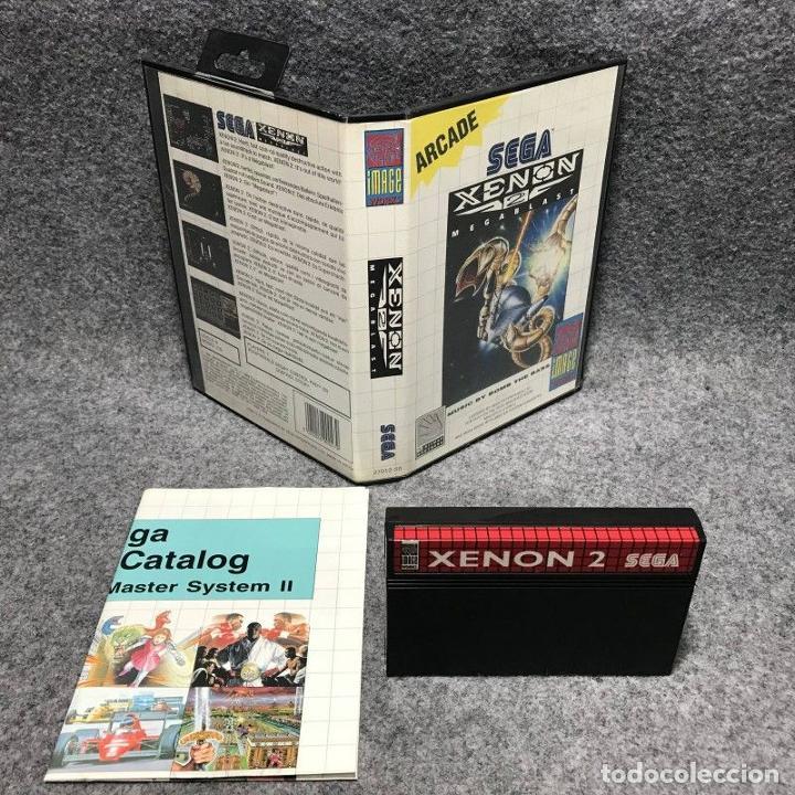 XENON 2 SEGA MASTER SYSTEM (Juguetes - Videojuegos y Consolas - Sega - Master System)