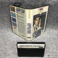 Videojuegos y Consolas: JAMES BOND 007 THE DUEL SEGA MASTER SYSTEM. Lote 187441483