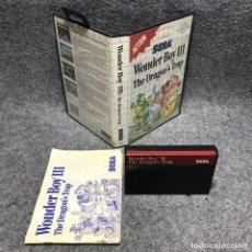 Videojuegos y Consolas: WONDER BOY III THE DRAGONS TRAP SEGA MASTER SYSTEM. Lote 187441488