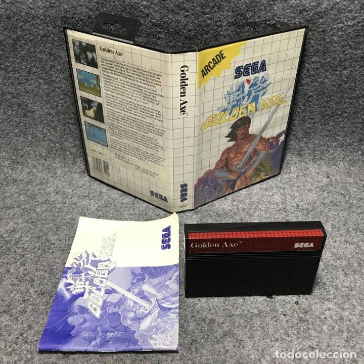 GOLDEN AXE SEGA MASTER SYSTEM (Juguetes - Videojuegos y Consolas - Sega - Master System)