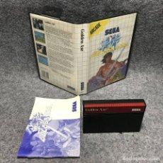 Videojuegos y Consolas: GOLDEN AXE SEGA MASTER SYSTEM. Lote 187441491