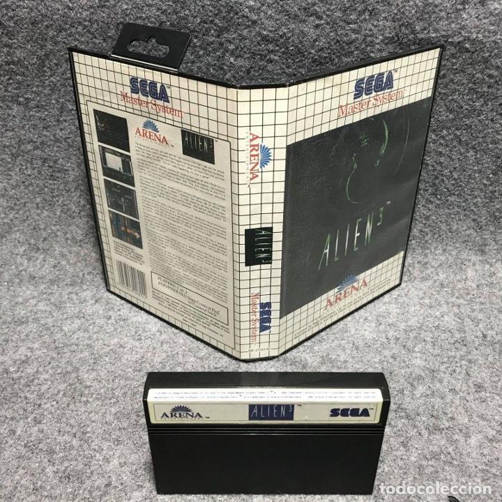ALIEN 3 SEGA MASTER SYSTEM (Juguetes - Videojuegos y Consolas - Sega - Master System)