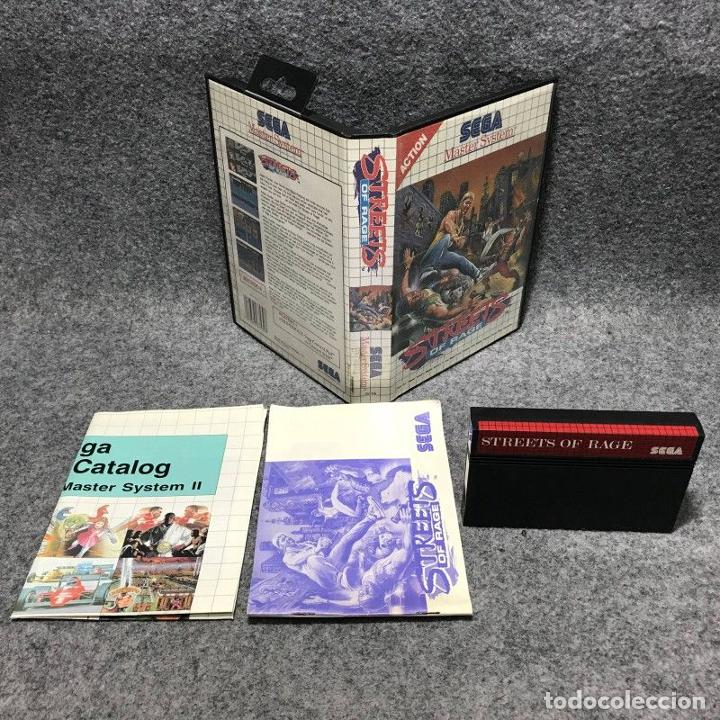 STREETS OF RAGE SEGA MASTER SYSTEM (Juguetes - Videojuegos y Consolas - Sega - Master System)