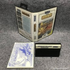 Videojuegos y Consolas: HEROES OF THE LANCE SEGA MASTER SYSTEM. Lote 187441496