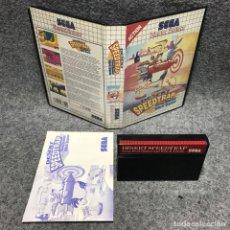 Videojuegos y Consolas: DESERT SPEEDTRAP SEGA MASTER SYSTEM. Lote 187441503