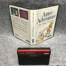 Videojuegos y Consolas: AZTED ADVENTURE SEGA MASTER SYSTEM. Lote 187441505