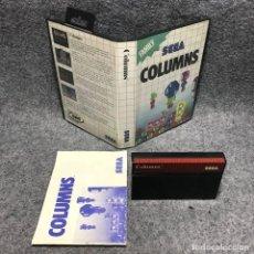 Videojuegos y Consolas: COLUMNS SEGA MASTER SYSTEM. Lote 187441506