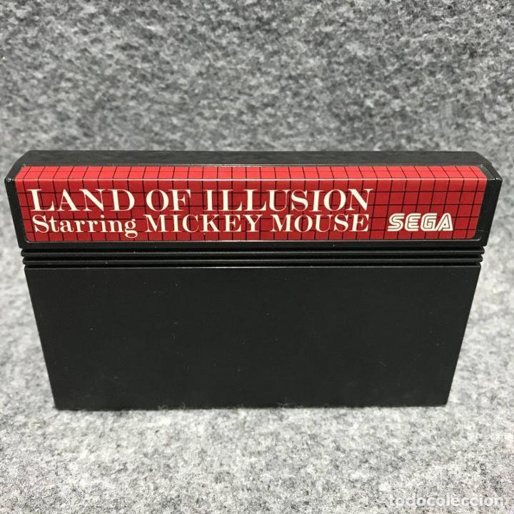 LAND OF ILLUSION STARRING MICKEY MOUSE SEGA MASTER SYSTEM (Juguetes - Videojuegos y Consolas - Sega - Master System)
