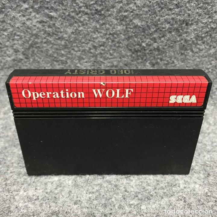 OPERATION WOLF SEGA MASTER SYSTEM (Juguetes - Videojuegos y Consolas - Sega - Master System)