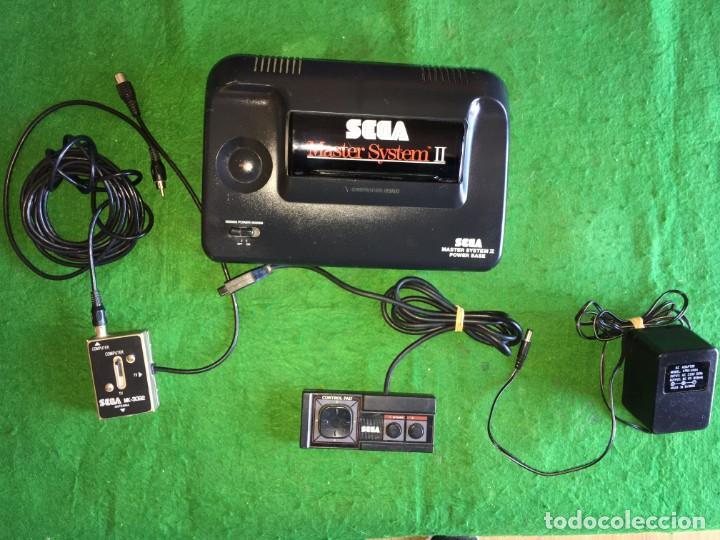 CONSOLA SEGA MASTER SYSTEM II - JUEGO SONIC + SONIC 2 (Juguetes - Videojuegos y Consolas - Sega - Master System)