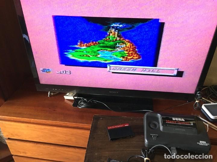 Videojuegos y Consolas: CONSOLA SEGA MASTER SYSTEM II - JUEGO SONIC + SONIC 2 - Foto 4 - 188732530