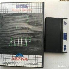 Videojuegos y Consolas: ALIEN 3 SEGA MASTER SYSTEM KREATEN. Lote 189123058