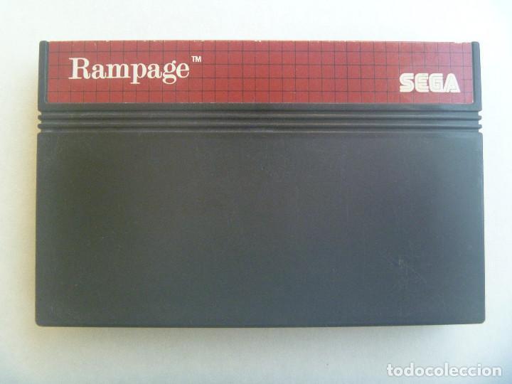JUEGO DE CONSOLA DE SEGA : RAMPAGE . MADE IN JAPAN (Juguetes - Videojuegos y Consolas - Sega - Master System)