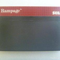 Videojuegos y Consolas: JUEGO DE CONSOLA DE SEGA : RAMPAGE . MADE IN JAPAN. Lote 189394992