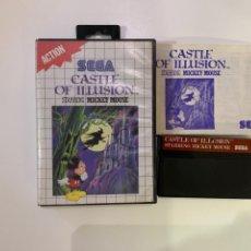 Videojogos e Consolas: CASTEL OF ILLUSION SEGA MÁSTER SISTEM. Lote 190437048