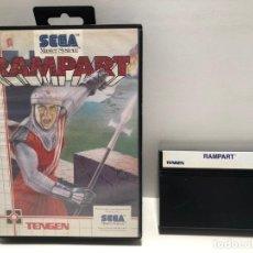 Videojuegos y Consolas: RAMPART SEGA MASTER SYSTEM. Lote 190450720