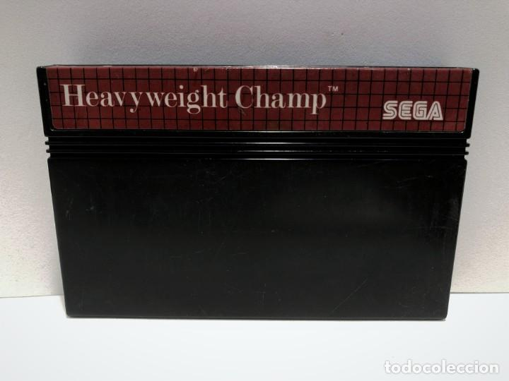 HEAVYWEIGHT CHAMP SEGA MASTER SYSTEM (Juguetes - Videojuegos y Consolas - Sega - Master System)