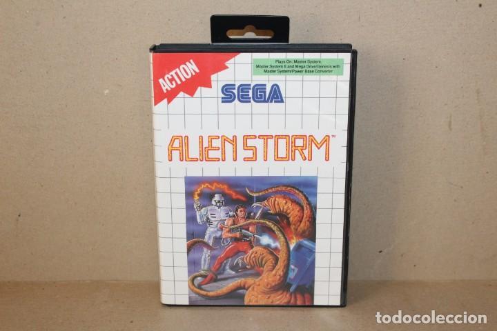 JUEGO SEGA MASTER SYSTEM: ALIEN STORM --- SIN INSTRUCCIONES. (Juguetes - Videojuegos y Consolas - Sega - Master System)
