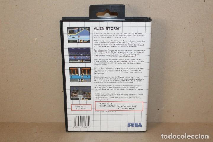 Videojuegos y Consolas: JUEGO SEGA MASTER SYSTEM: ALIEN STORM --- SIN INSTRUCCIONES. - Foto 3 - 191194458