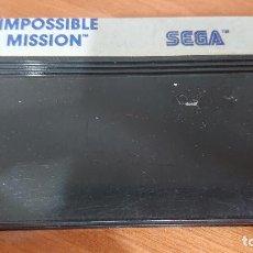 Videojuegos y Consolas: IMPOSSIBLE MISSION MASTER SYSTEM CARTUCHO. Lote 192162826