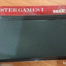 Videojuegos y Consolas: MASTER GAMES I MASTER SYSTEM CARTUCHO. Lote 192163487