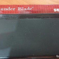 Videojuegos y Consolas: THUNDER BLADE MASTER SYSTEM CARTUCHO. Lote 192163785
