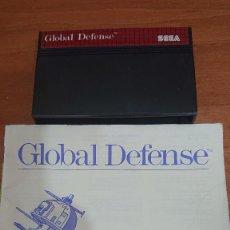 Videojuegos y Consolas: GLOBAL DEFENSE MASTER SYSTEM SIN CARÁTULA. Lote 193231540