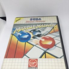 Videojuegos y Consolas: MASTERSYSTEM MARBLE MADNESS JUEGO SIN INSTRUCCIONES. Lote 193318241