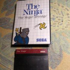 Videojuegos y Consolas: JUEGO SEGA THE NINJA COMPLETO. Lote 193646176