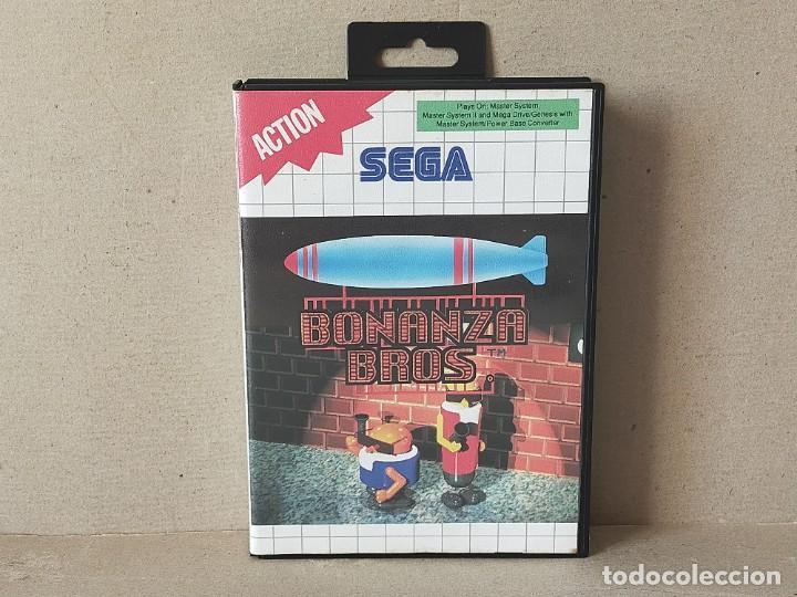 JUEGO SEGA MASTER SYSTEM: BONANZA BROS / BONANZA BROTHERS - COMPLETO (Juguetes - Videojuegos y Consolas - Sega - Master System)