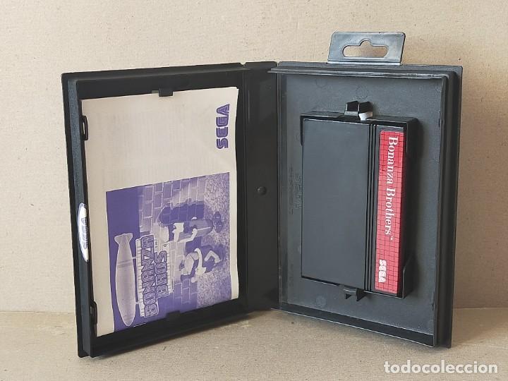 Videojuegos y Consolas: JUEGO SEGA MASTER SYSTEM: BONANZA BROS / BONANZA BROTHERS - COMPLETO - Foto 2 - 193745072