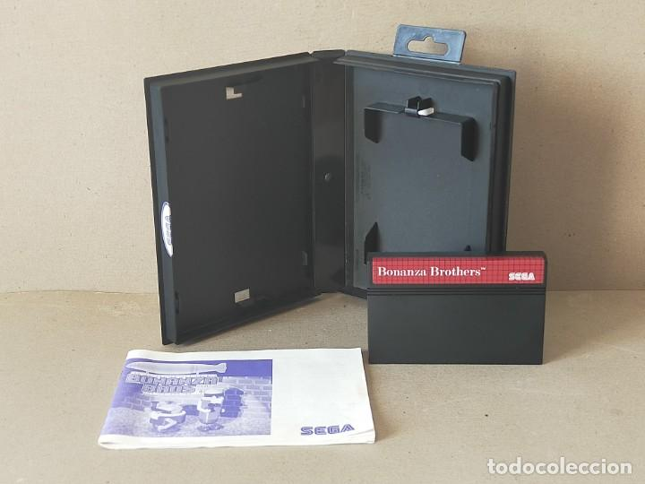 Videojuegos y Consolas: JUEGO SEGA MASTER SYSTEM: BONANZA BROS / BONANZA BROTHERS - COMPLETO - Foto 3 - 193745072