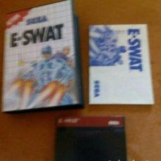 Videojuegos y Consolas: E-SWAT SEGA MÁSTER SYSTEM. Lote 193912815