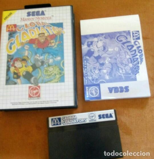 GLOBAL GLADIATORS SEGA MÁSTER SYSTEM (Juguetes - Videojuegos y Consolas - Sega - Master System)