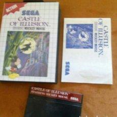 Videojogos e Consolas: CASTLE OF ILLUSION SEGA MÁSTER SYSTEM. Lote 193913405