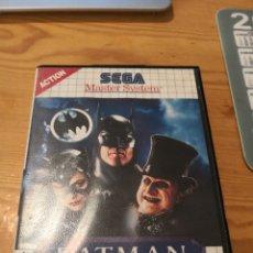 Videojuegos y Consolas: BATMAN RETURNS SEGA MASTER SYSTEM.. Lote 194151536