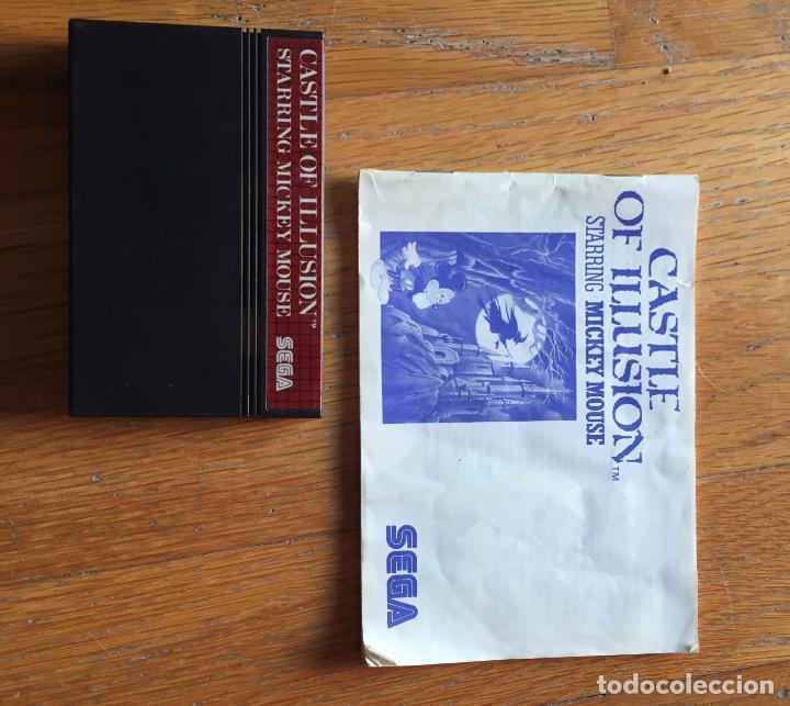 Videojuegos y Consolas: CASTLE OF ILLUSION SEGA MASTER SYSTEM - Foto 3 - 194212235