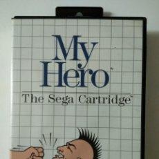Videojuegos y Consolas: VIDEO JUEGO PARA MASTER SYSTEM : MY HERO 1986. Lote 194339727