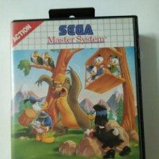 Videojuegos y Consolas: VIDEO JUEGO PARA MASTER SYSTEM :THE LUCKY DIME CAPER 1991. Lote 194339983