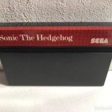 Videogiochi e Consoli: SONIC THE HEDGEHOG SEGA MASTER SYSTEM. Lote 224283277
